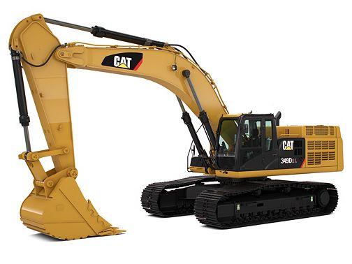 349D3/D2 L - Large Excavators