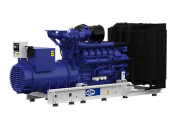 4012TWG P1250 generator set