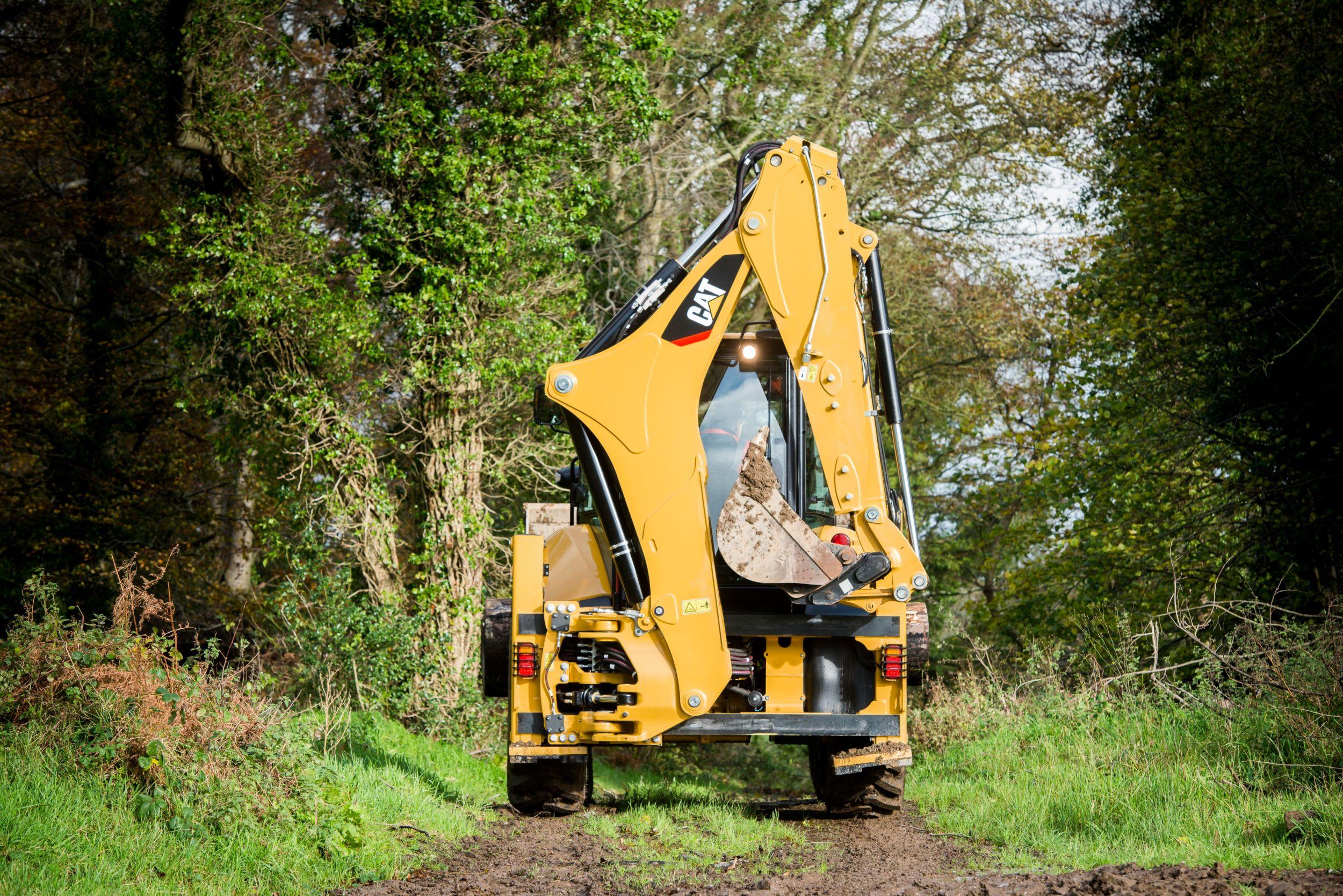 Excavator Style Backhoe