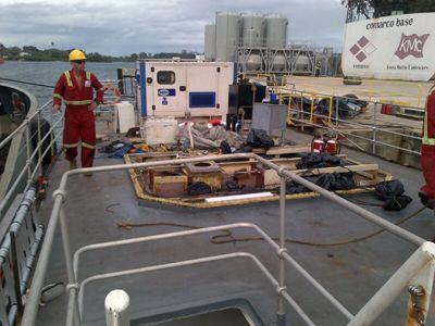 FG Wilson generator donated to Vine Trust
