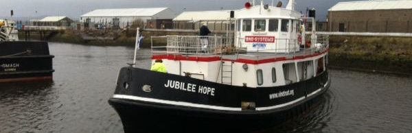 Jubilee Hope 10,000 mile journey powered by FG Wilson