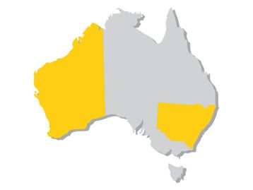 ACT, NSW, WA