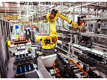 The robots in our factory
