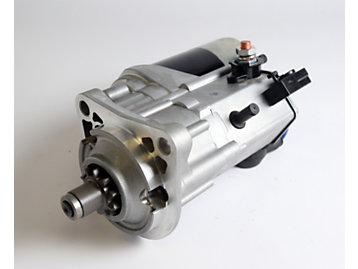 Reliability built into starter motors