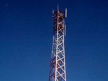 Telecommunications tower image