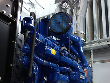 FG Wilson generator set installed in the Parkovaya Data Center photograph