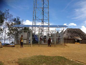 Telecommunications station image