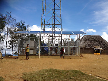 Telecommunications Station in Papua New-Guinea image