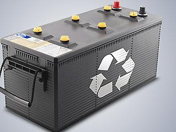 FG Wilson battery