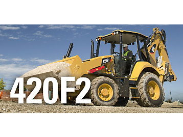 Cat® F2 Series Backhoe Loaders