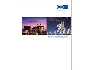 FG Wilson Sistemi di controllo Copertina Brochure