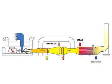 Power generation, Thermal oil and steam generation