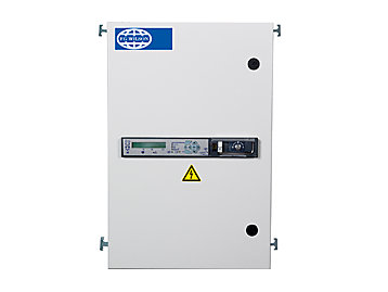 FG Wilson | Control Panels and Transfer Panels on 3 phase current transformer, 3 phase manual transfer switch, 3 phase magnetic contactor,