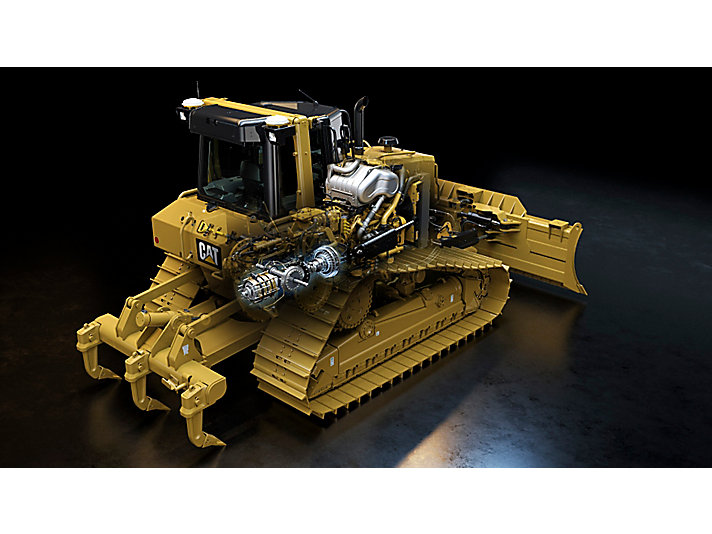 Tractor de Cadenas Mediano D6N