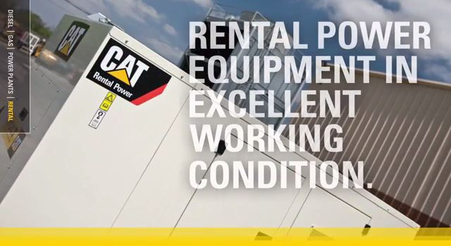 Cat Rental Power Products and Dealer Services