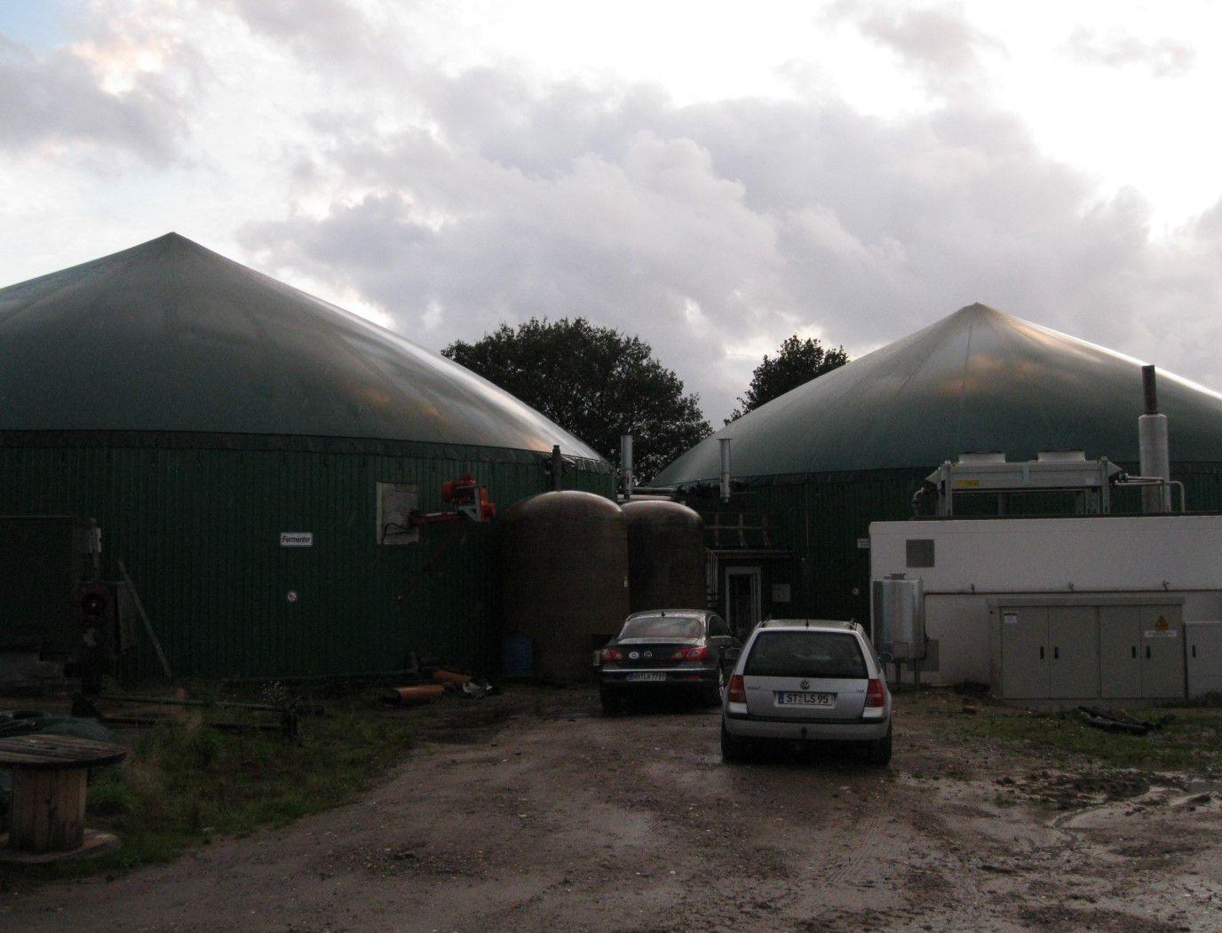 Digester biogas
