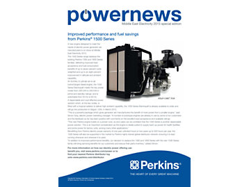 Powernews MEE Special Edition - Front cover