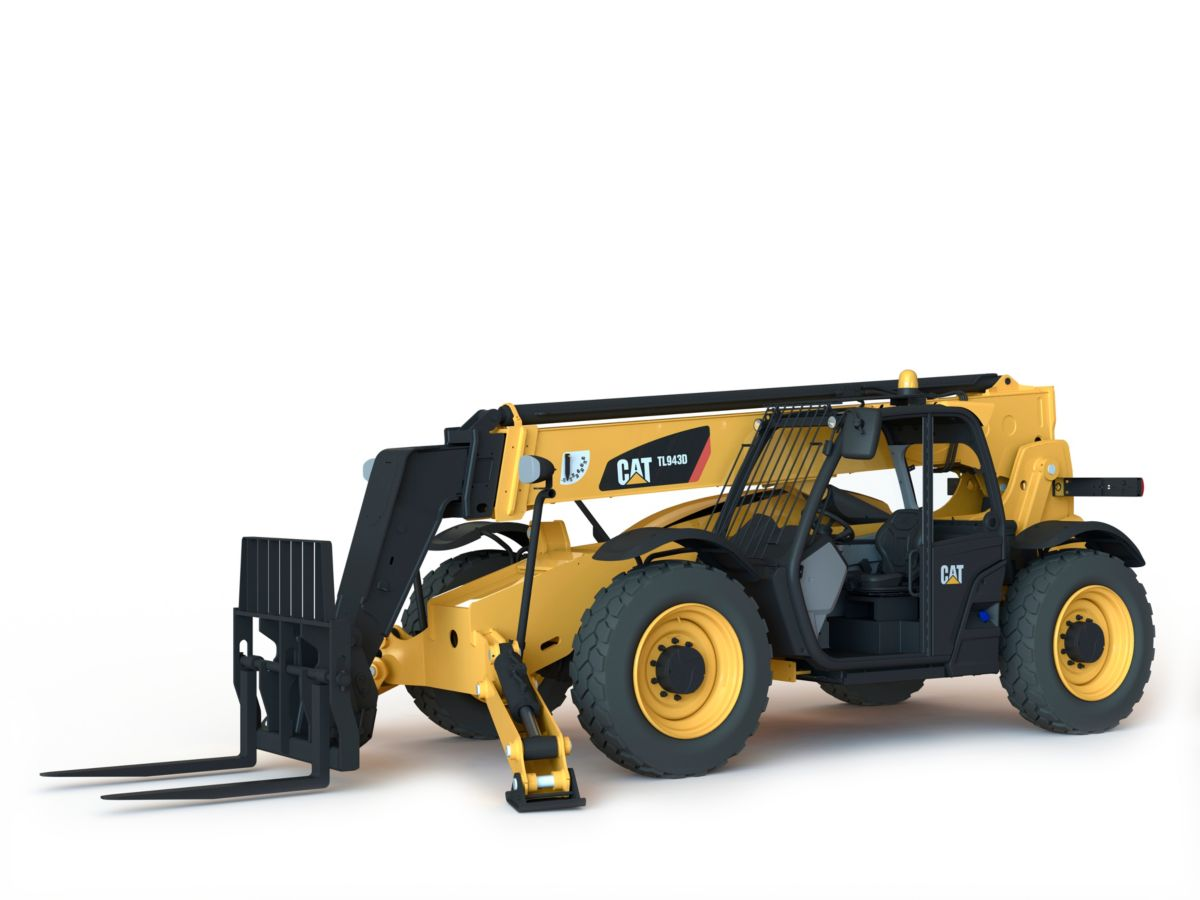 TL943D Telehandler with Stabilizers