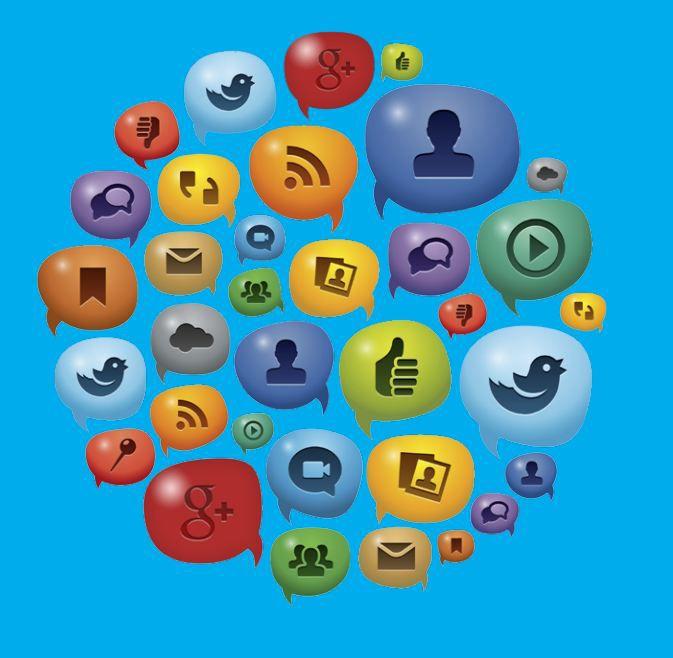 Social media channels image