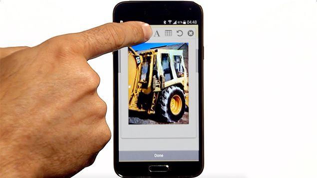 App für die Maschinenüberwachung und Berichtserstellung