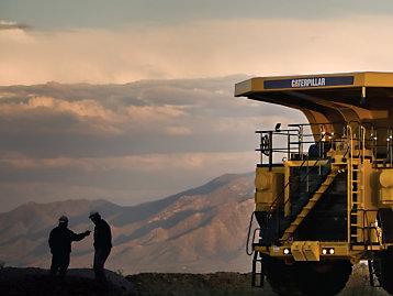 Řešení pro těžební průmysl