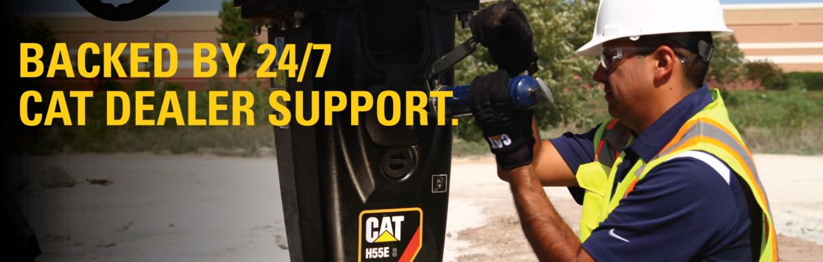 Backed By 24/7 Cat Dealer Support