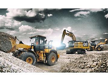 XE Series - 966M XE Wheel Loader  |  972M XE Wheel Loader  |  336F L XE Excavator