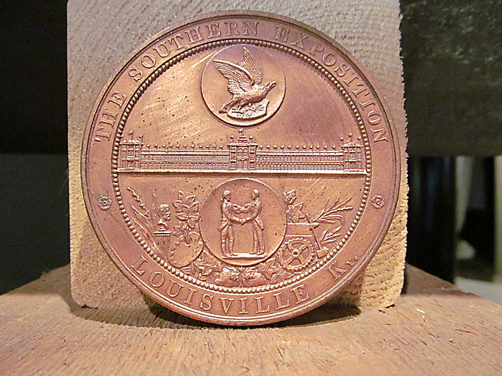 Southern Exposition Medal - Obverse