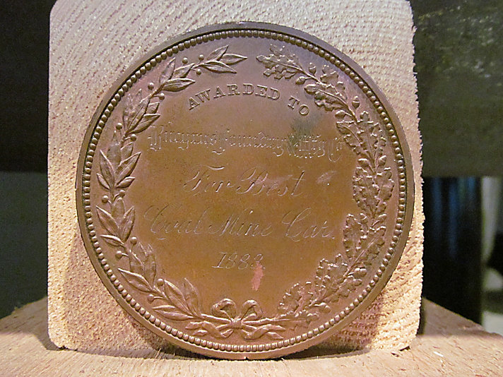 Southern Exposition Medal - Reverse
