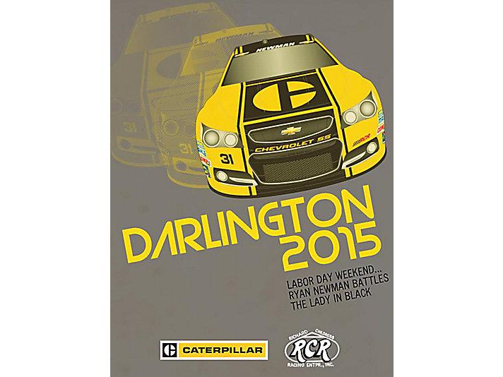 2015年达灵顿赛车海报
