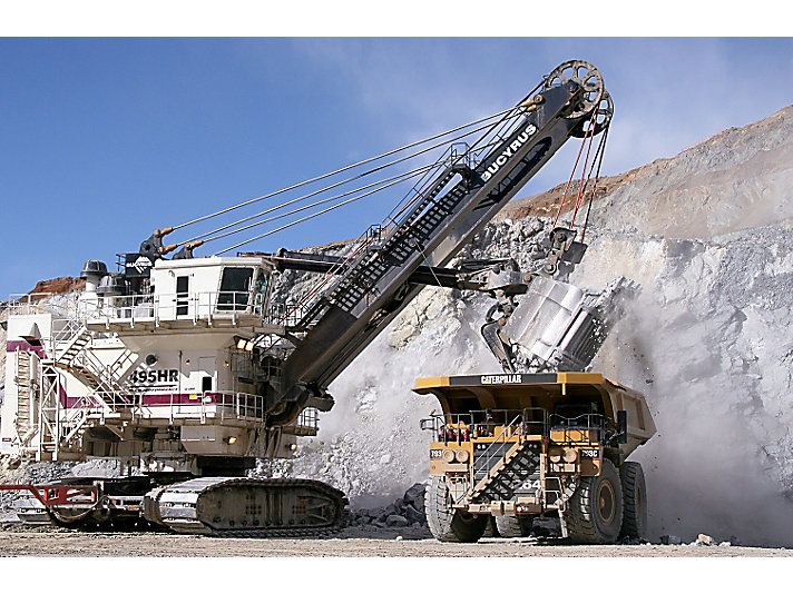 Caterpillar and Bucyrus machines have worked side-by-side since 1925.