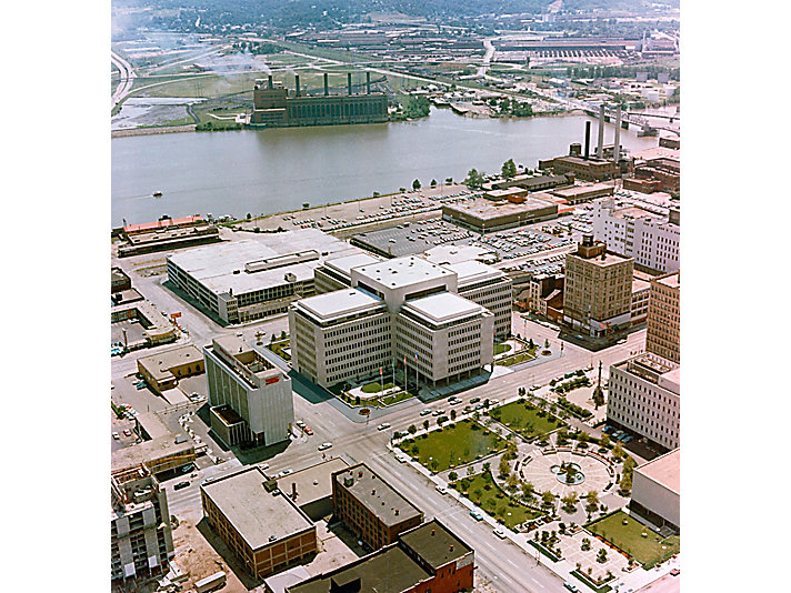 Photo of the new headquarters taken in 1967.