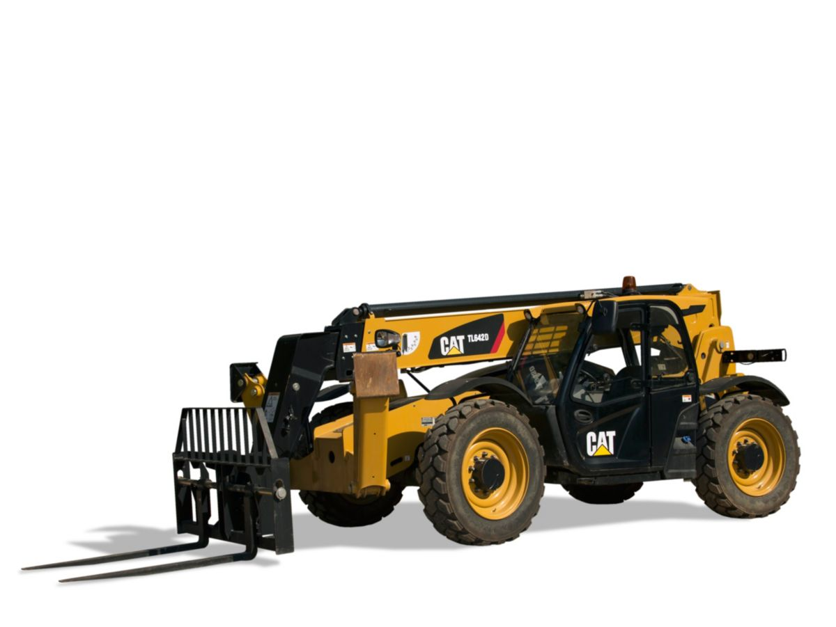 TL642D Telehandler with Stabilizers