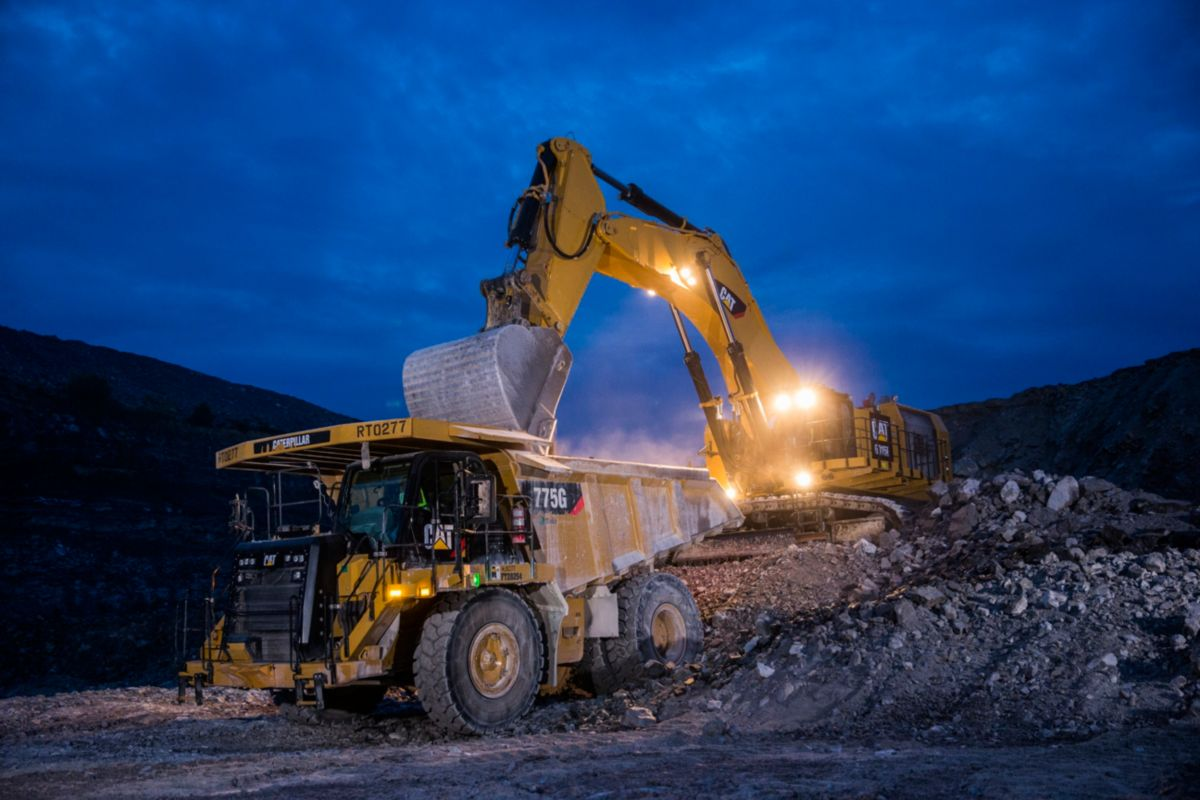 6015B Helps Alabama Quarry Increase Production and Improve Fuel Efficiency