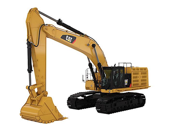 Grote hydraulische graafmachine 374F L