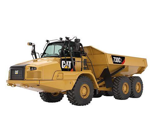 730C2 - Three Axle Articulated Trucks