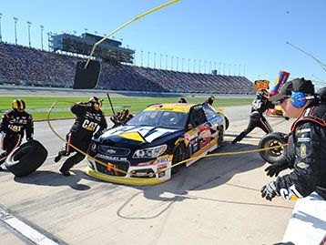 Check out the Cat Racing Team's race results during the 2015 NASCAR Sprint Cup race season.