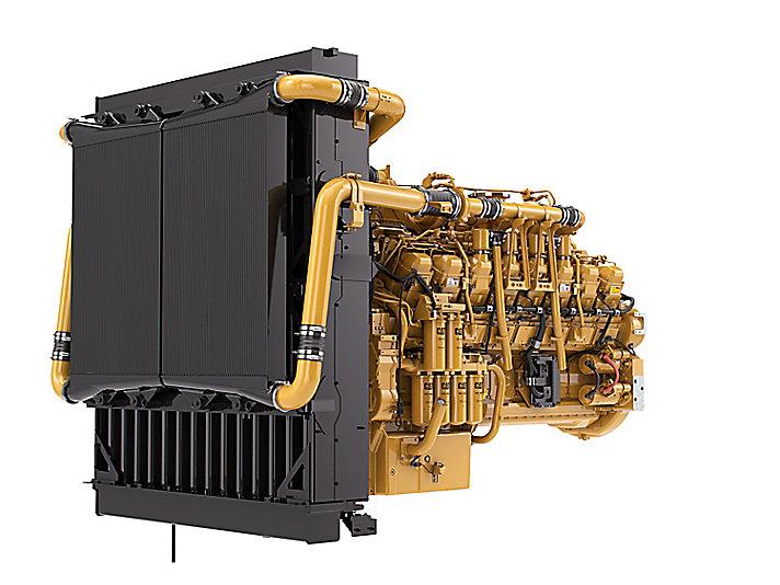 3516 LRC 柴油发动机 - 管制较松的地区和非管制地区