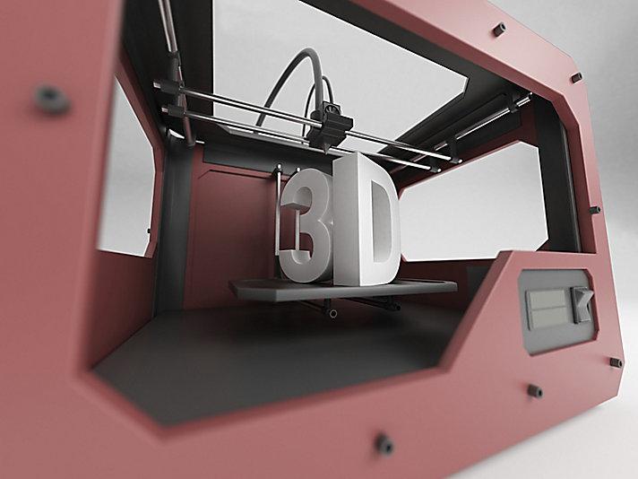 3D printing isn't a new concept at Caterpillar