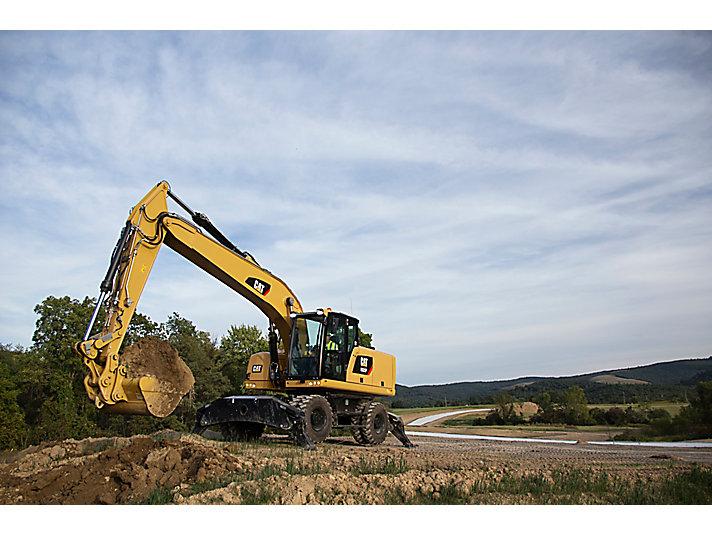Excavadora de Ruedas M322F