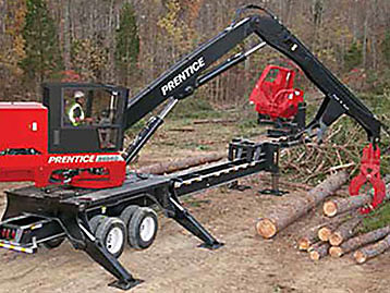 Prentice Knuckleboom Loader (Trailer Mount) photo