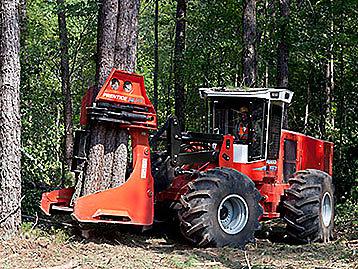 Prentice C Series Wheel Feller Buncher photo