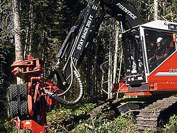 Prentice Track Harvester
