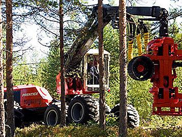 Prentice Wheel Harvester