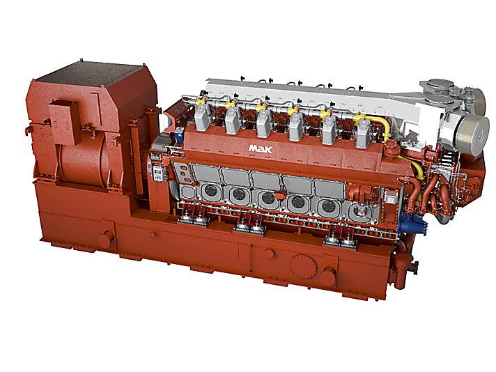 VM 46 DF Generator Set
