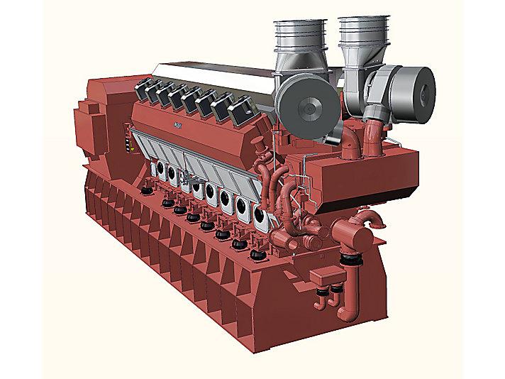 Gruppo elettrogeno VM 43 C