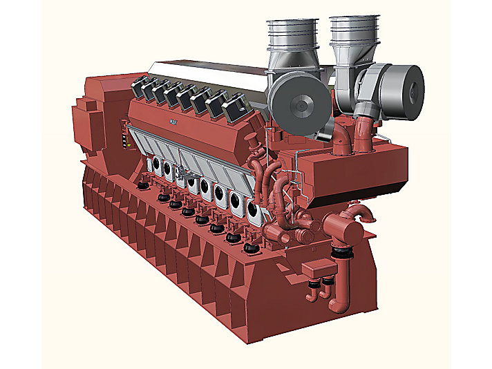 VM 43 C Generator Set