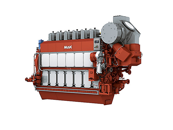 Engine Propulsi M 34 DF