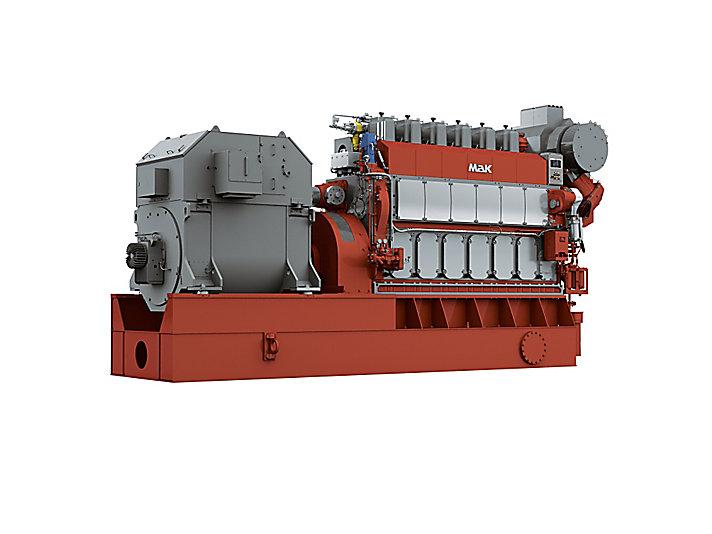 M 34 DF 发电机组