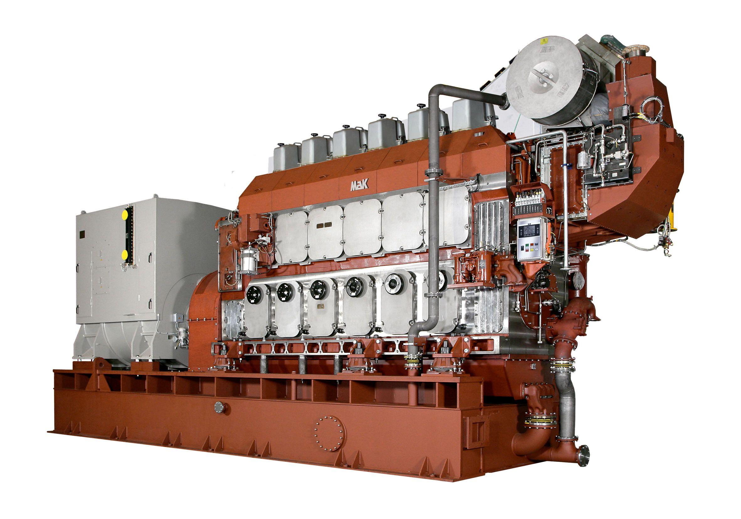 M 46 DF Generator Set